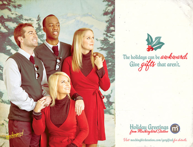 Mockingbird Station Christmas Ads (Friends) Photography By Adam Fish Fotography at www.FishFotography.com