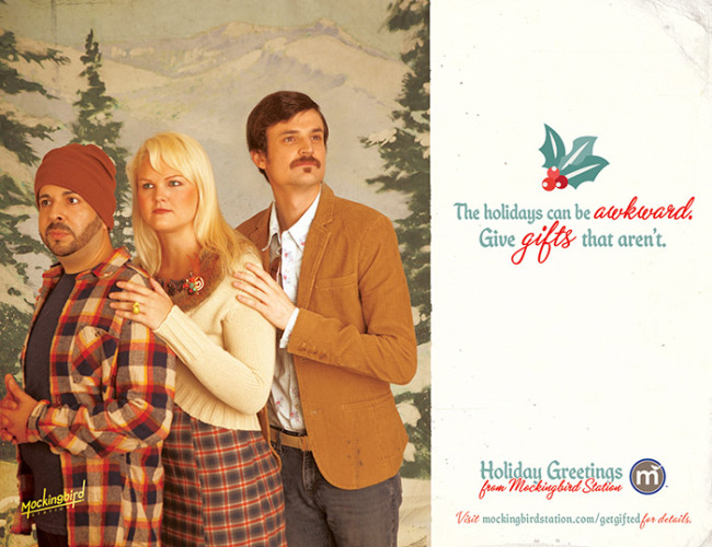 Mockingbird Station Christmas Ads (Vintage) Photography By Adam Fish Fotography at www.FishFotography.com