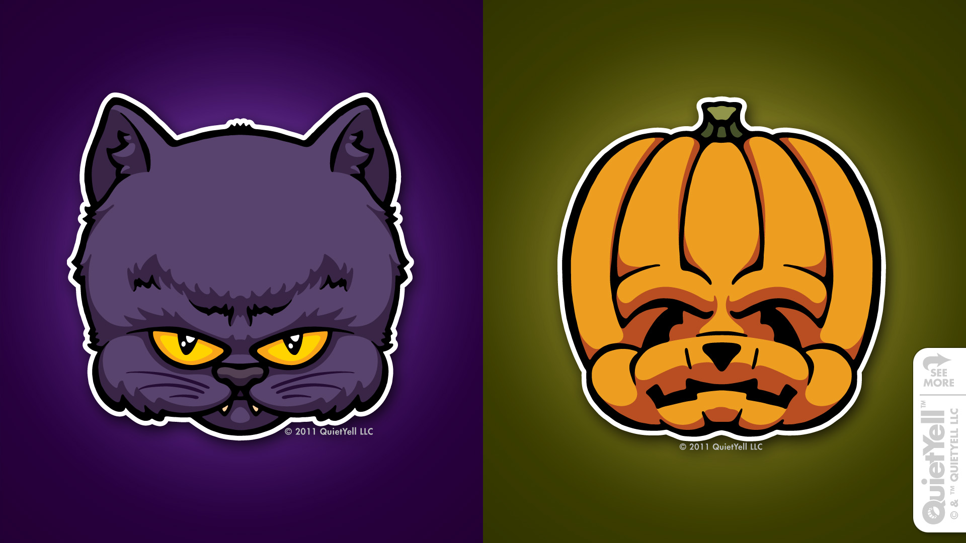 quietyell_illustration_full_monsterheads2011_blackcatjackolantern_01