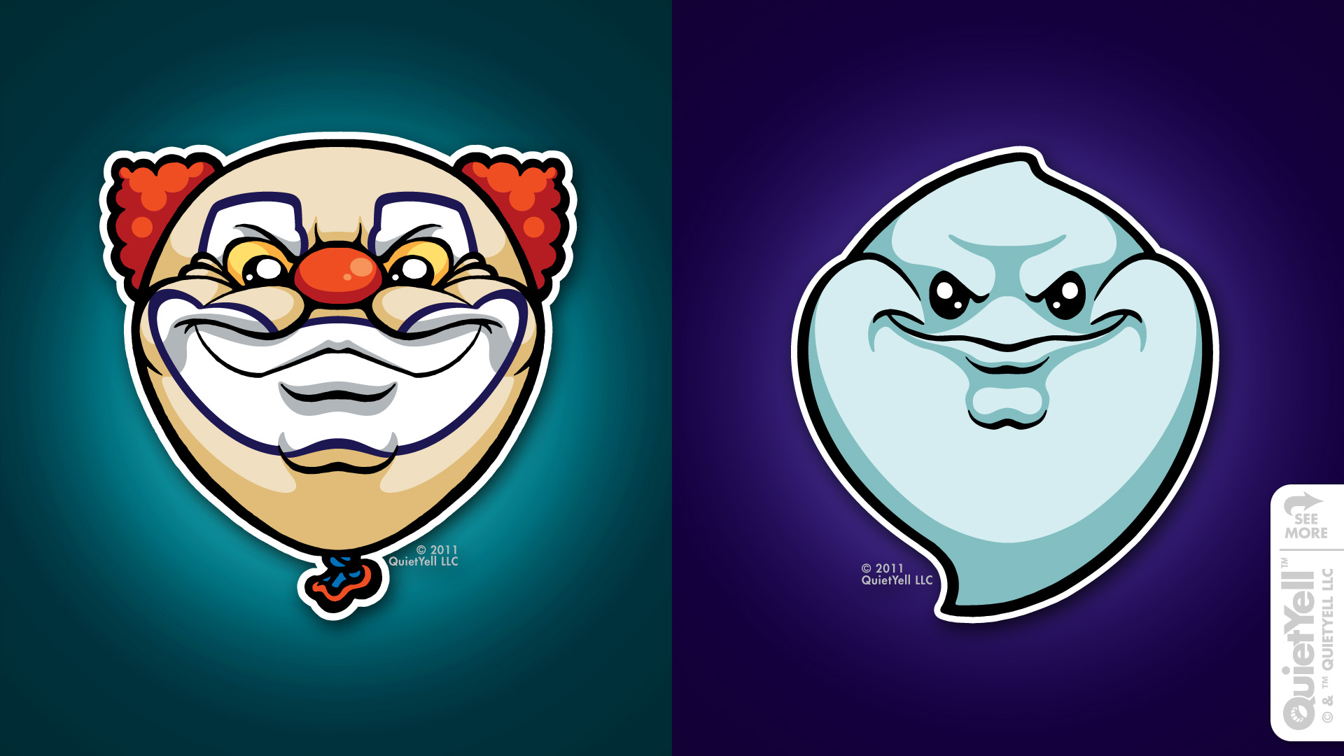 quietyell_illustration_full_monsterheads2011_clownghost_01
