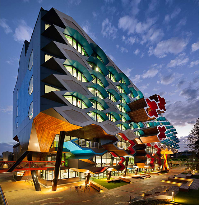 LIMS Complex, A Molecular Science Building by Lyons Architects