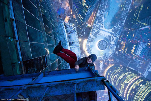 Extreme Photography by Ukrainian Daredevil, Mustang Wanted