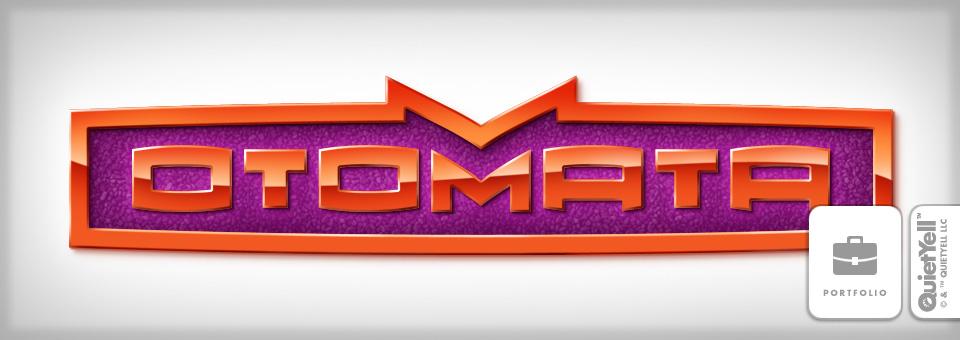 QuietYell™ Illustration & Design Portfolio: Otomata Logo 01 - Visit www.QuietYell.com and Find QuietYell Products on CafePress & Zazzle