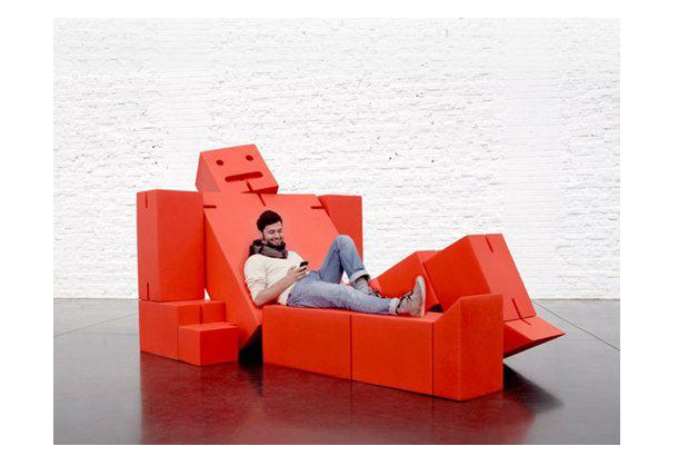 Relax with Cubebot by David Weeks Studio