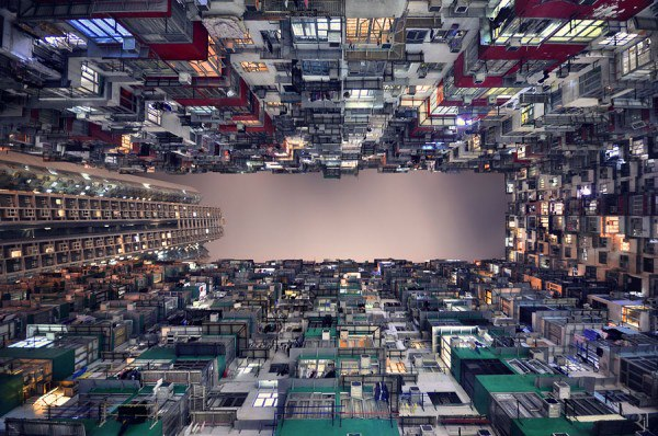 Worm's Eye Views of Hong Kong via Hila Hamidi on Art & Architecture