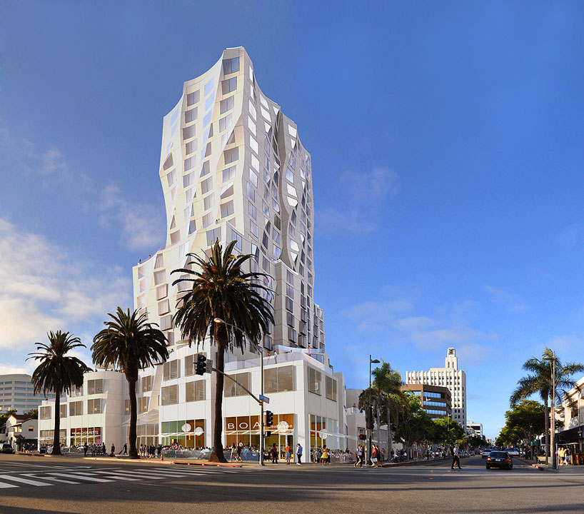 Ocean Avenue Project in Santa Monica by Frank Gehry
