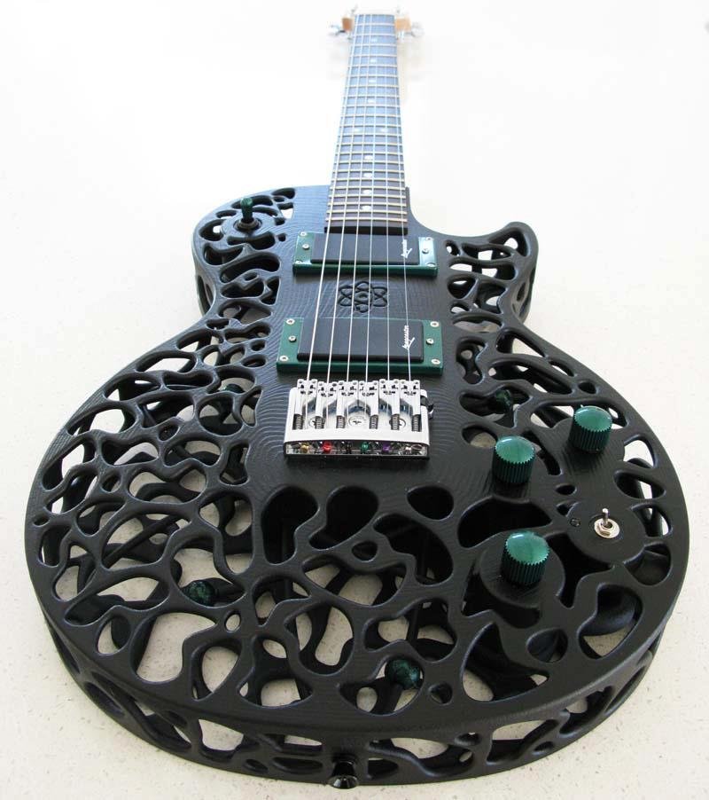 The Atom 3D Printed Guitar by 3D Systems