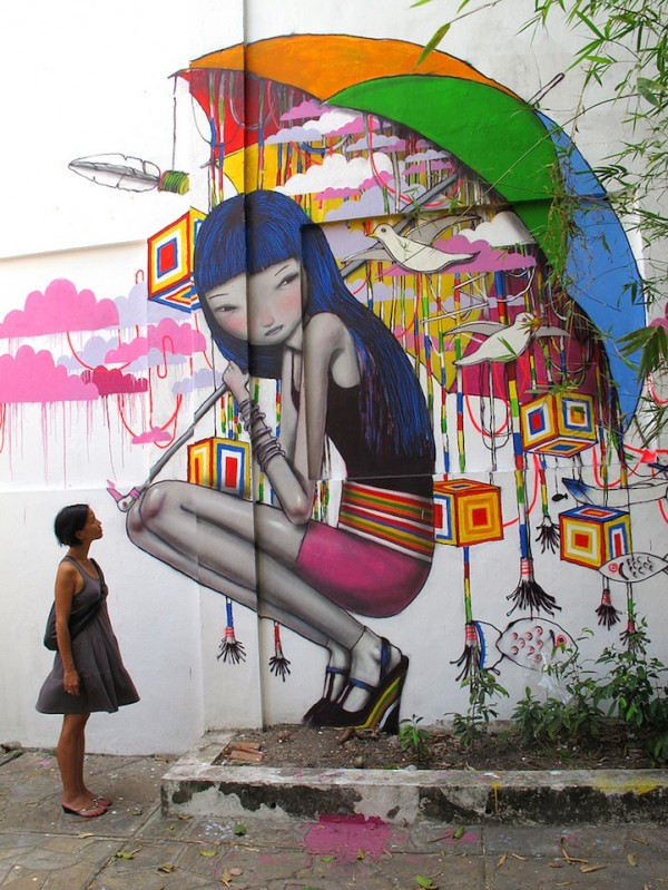 Julian Mallart and His Worldwide Traveling Street Art