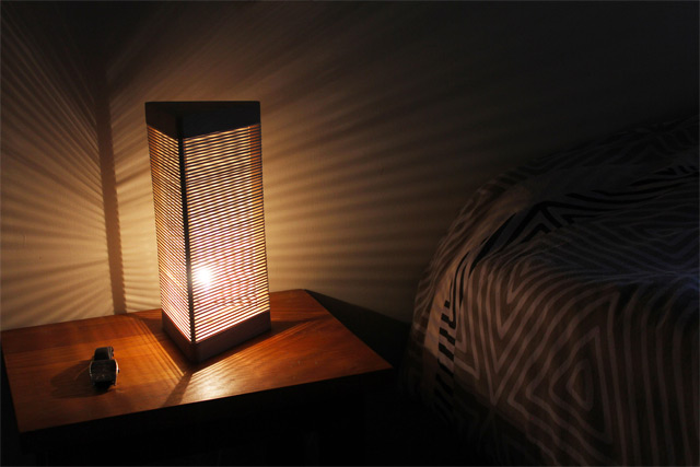 Delta Lamp: A Customizable Light Made from Rubber Bands
