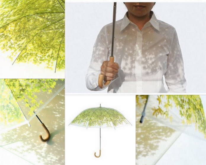 Happy Tree Umbrella by Japanese Company, Design Complicity