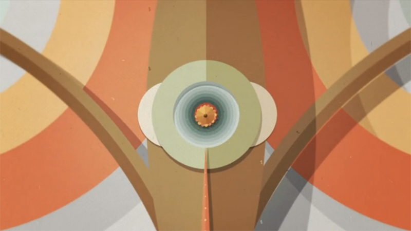 Animated Video Inspired by Paper-Collage by Francisco Miranda & Guillermo Daldovo