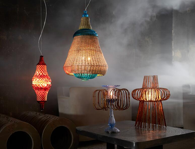 'Fusion' Lighting Collection by Fernando and Humberto Campana