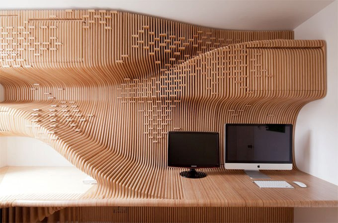 Chelsea Work­space Custome Home Office by Syn­the­sis