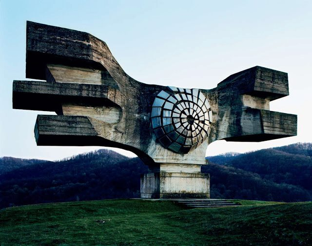 Abandoned Monuments in Yugoslavia