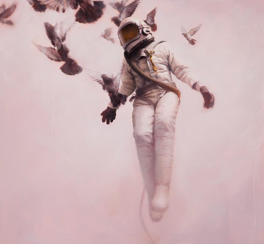 White Cosmonaut by Jeremy Geddes