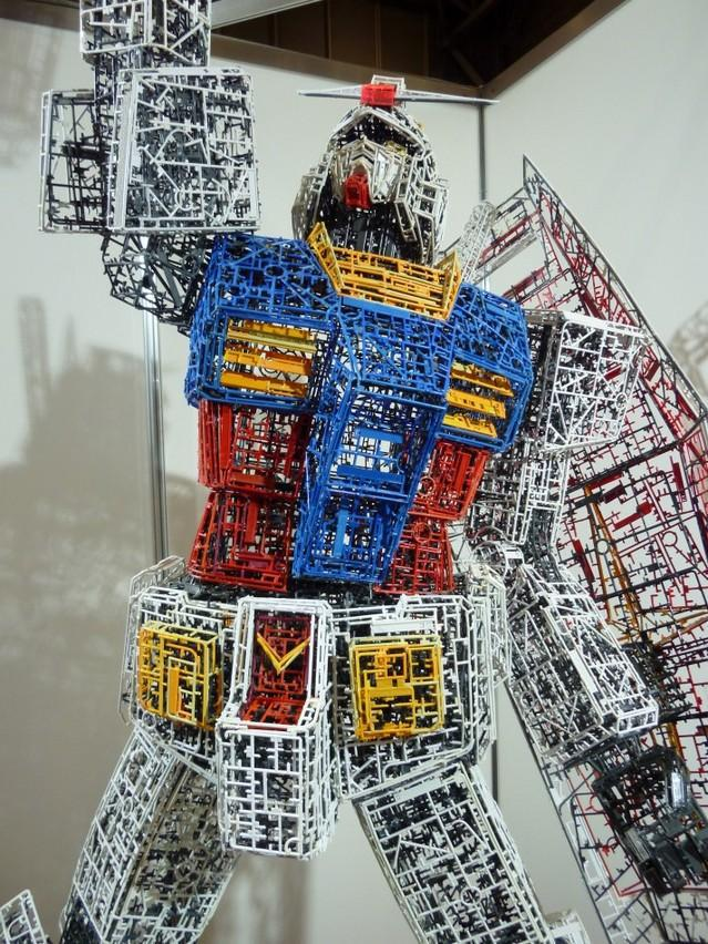 Gundam Made Out of Runners via Danny Choo