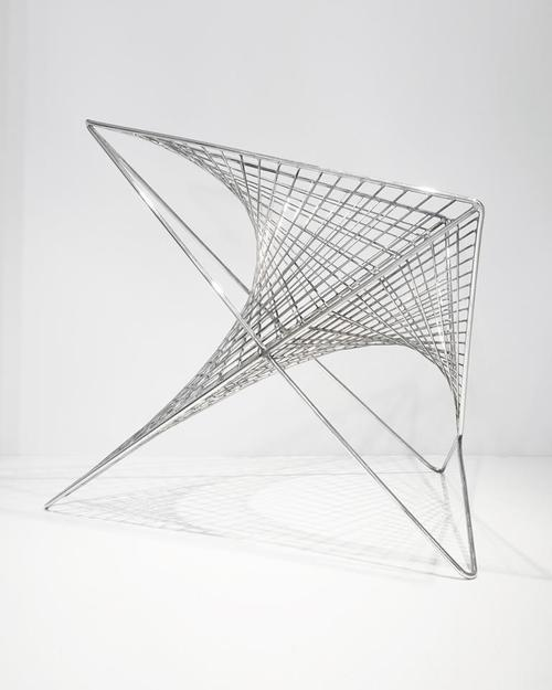 Ordiri Parabola Chair by Los Angeles-Based Architect and Product Designer Carlo Aiello