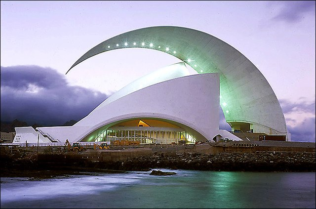 The Tenerife Opera House, Spain
