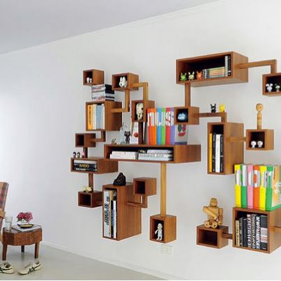 28 Creative Bookcases & Storage Units