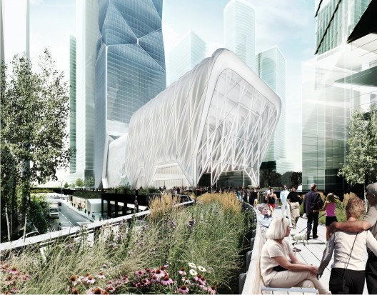 Diller Scofidio + Renfro Designs Telescopic 'Culture Shed' for New York