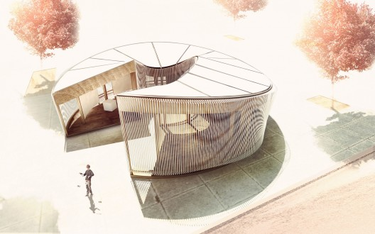 Weaving In-Tension (WIT) Pavilion: Operalab Competition Entry / Meta- Studio
