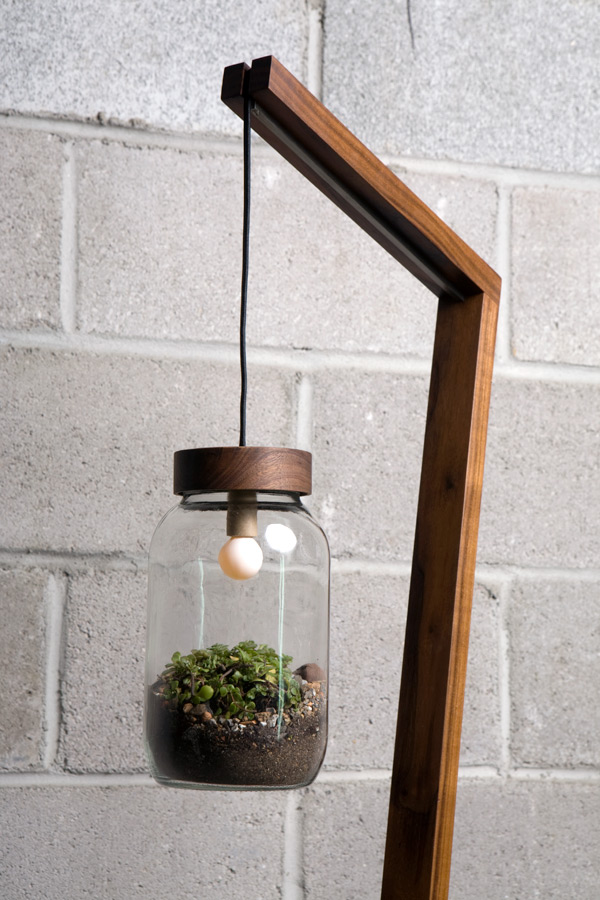 Ter­rar­i­um Floor Lamp (2011) by Autumn Work­shop