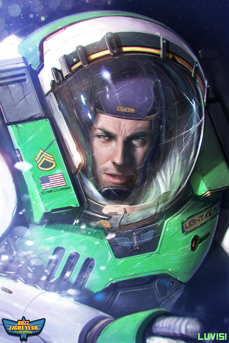 The Real Buzz Lightyear by Dan LuVisi