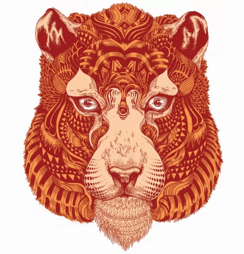 Tiger by Ian Macarthur (Featured in Hi-Fructose vol.22)