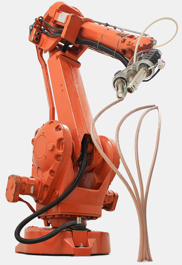 """Anti-Gravity Object Modeling: """"Mataerial"""" is a Robot That Draws Sculptures in 3D"""