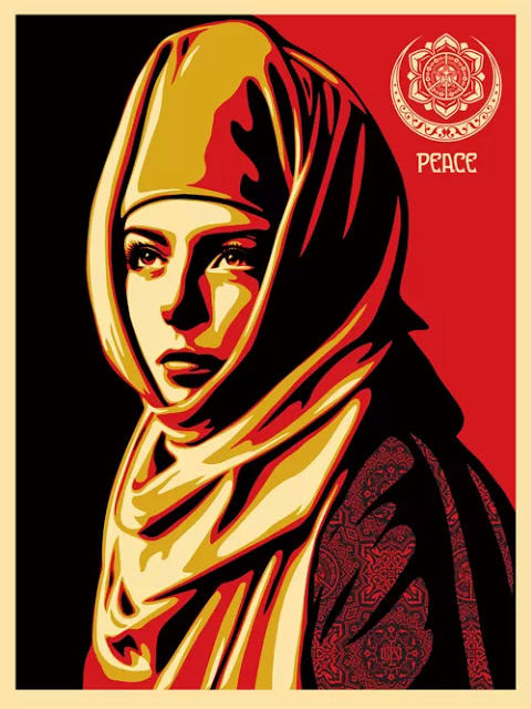 """Universal Personhood"" Print by Shepard Fairey aka Obey Giant"