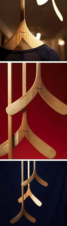 Hockey Stick Inspired Clothes Hangers