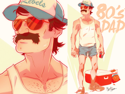 80's Dad by Michael Anderson