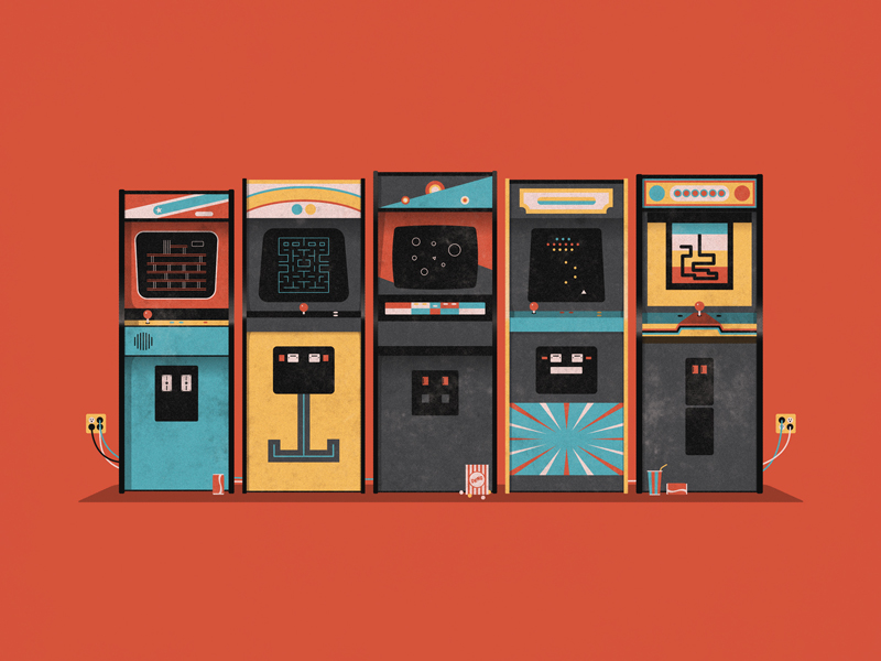 Arcade by DKNG for iam8bit Entertainment System