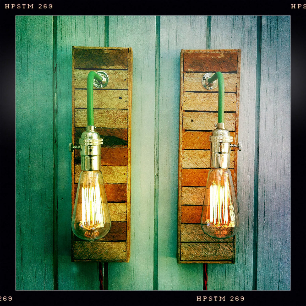 Vintage Industrial Style Lamps