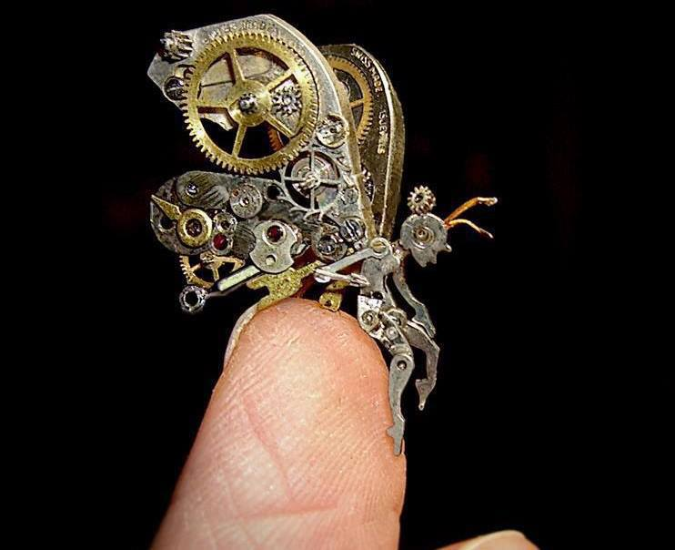 Fairy Made of the Parts of a Hand-Watch