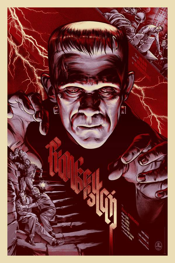 Frankenstein by http://martinansin.com/