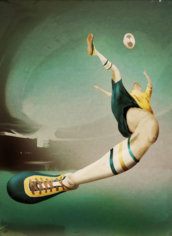 Play! World Cup Soccer Illustrations by Antonio Rodrigues Jr.