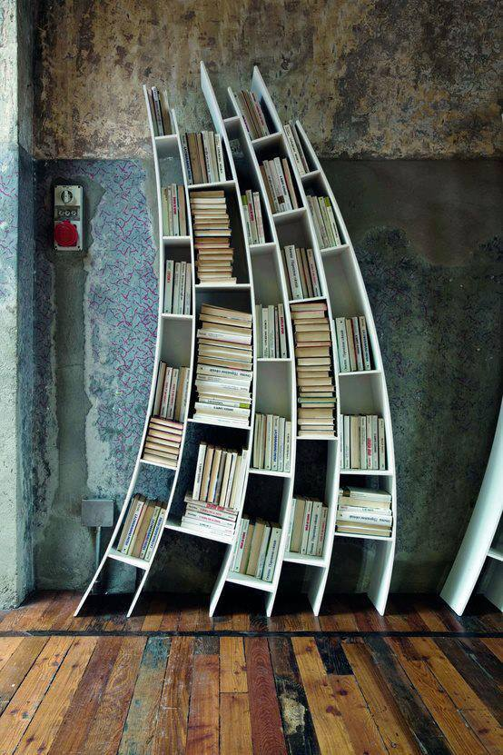 Arcing Bookcase