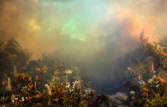 Water Tank Diorama Photography by Kim Keever
