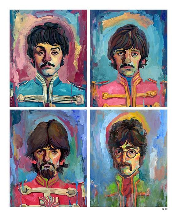 Beatles Inspiration by Rich Pellegrino