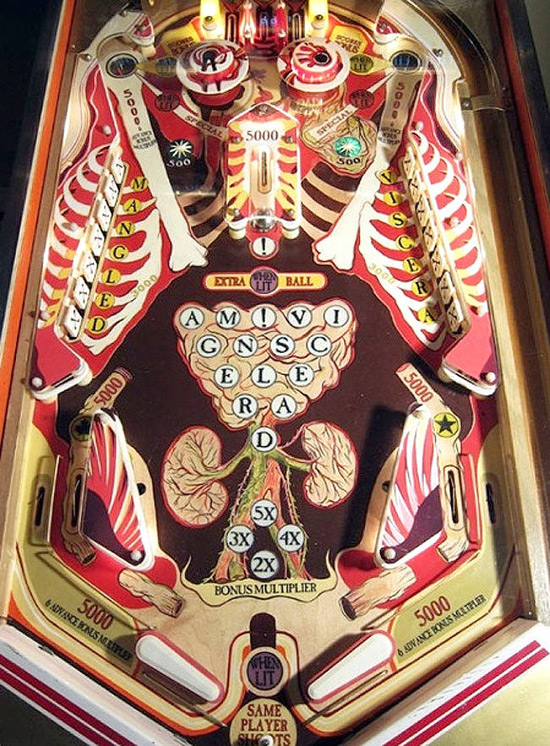 Pinball Journey Through the Human Body by Ho Yan (Howie) Tsui