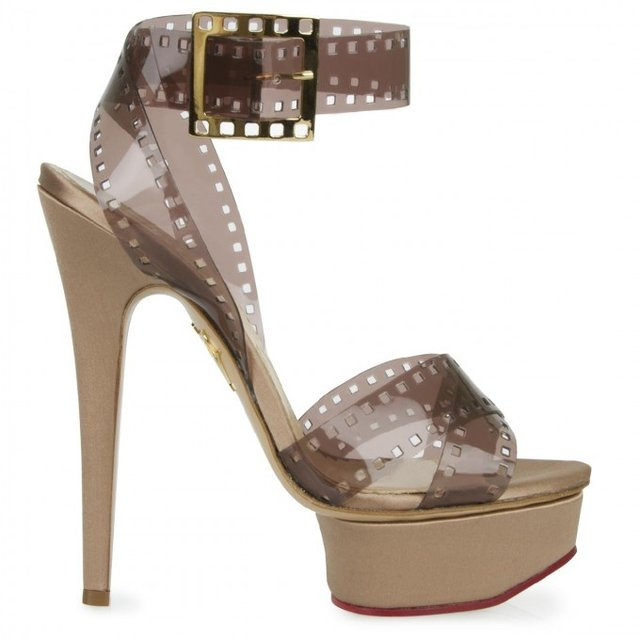 Girls On Film Platform Sandals by Charlotte Olympia
