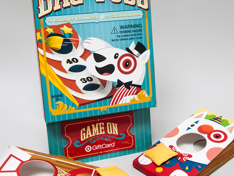 Target GiftCard - Bag Toss! by Christopher Lee