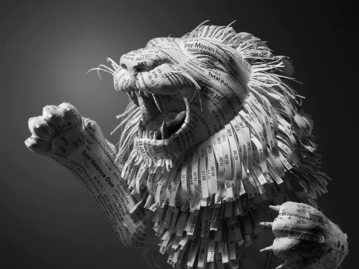 Paper Lion by Kyle Bean