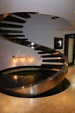 Curvy Staircase