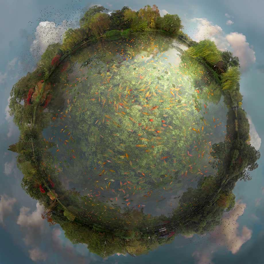 The Otherworldly Miniature Planet Digital Painting Photographs by Catherine Nelson