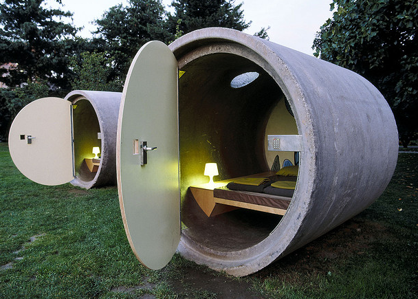 Repurposed Designs (Das Park Hotel in Ottensheim, Austria)