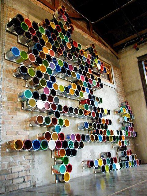 Paint Can Wall Art