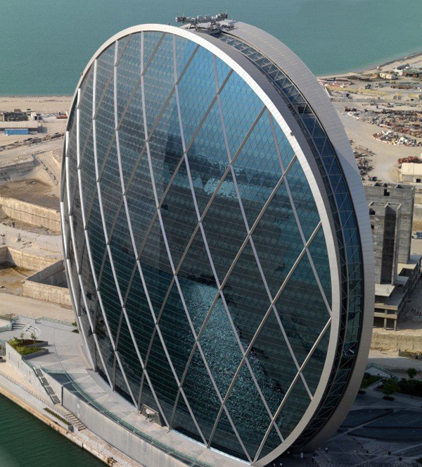 Aldar Headquarters in Abu Dhabi by MZ Architects