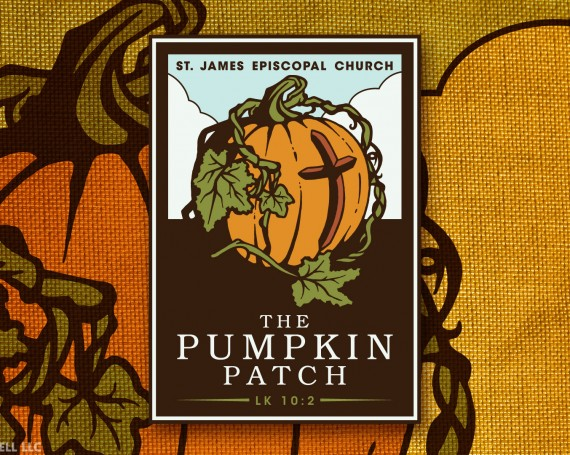 St. James Episcopal Pumpkin Patch Branding